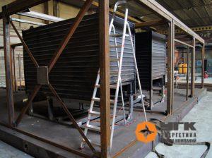 Строительство котельной на угле мощностью 2 МВт для Тоннельного отряда № 12